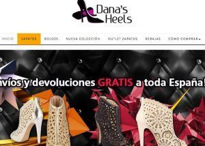 diseno tienda online danas heels
