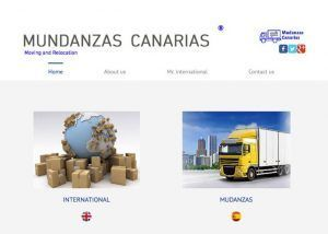 diseno web mudanzas canarias group