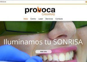 Diseño web Proboca Canarias