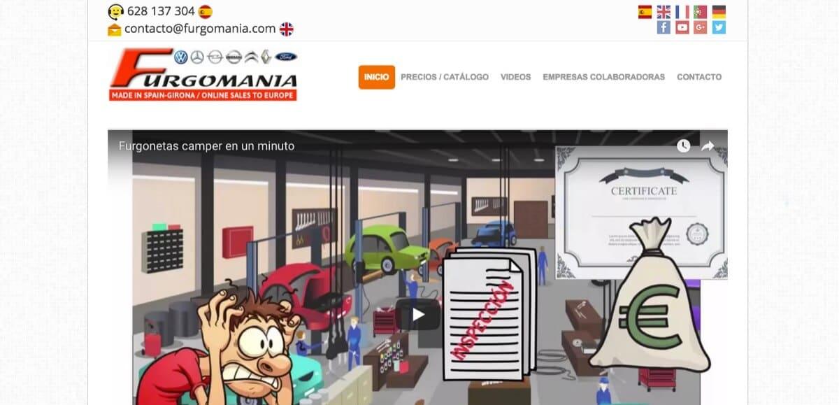 publicidad online furgomania