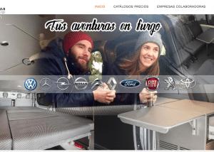 diseño web furgomania