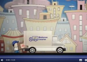 video publicitario mudanzas canarias