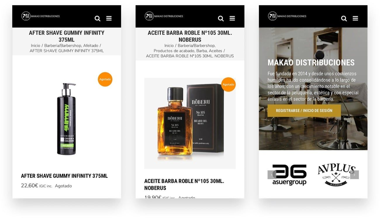 mockup diseño ecommerce publimarketing online